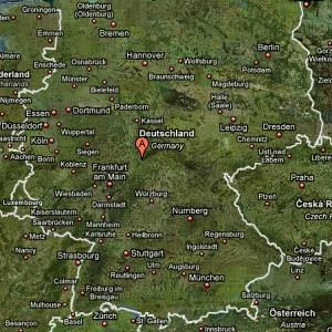Posizione di Fulda in Germania
